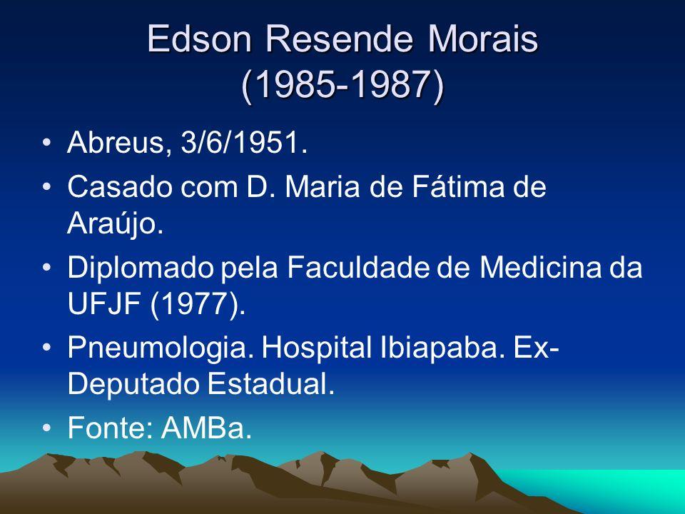 Edson Resende Morais (1985-1987)