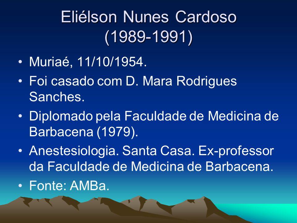 Eliélson Nunes Cardoso (1989-1991)