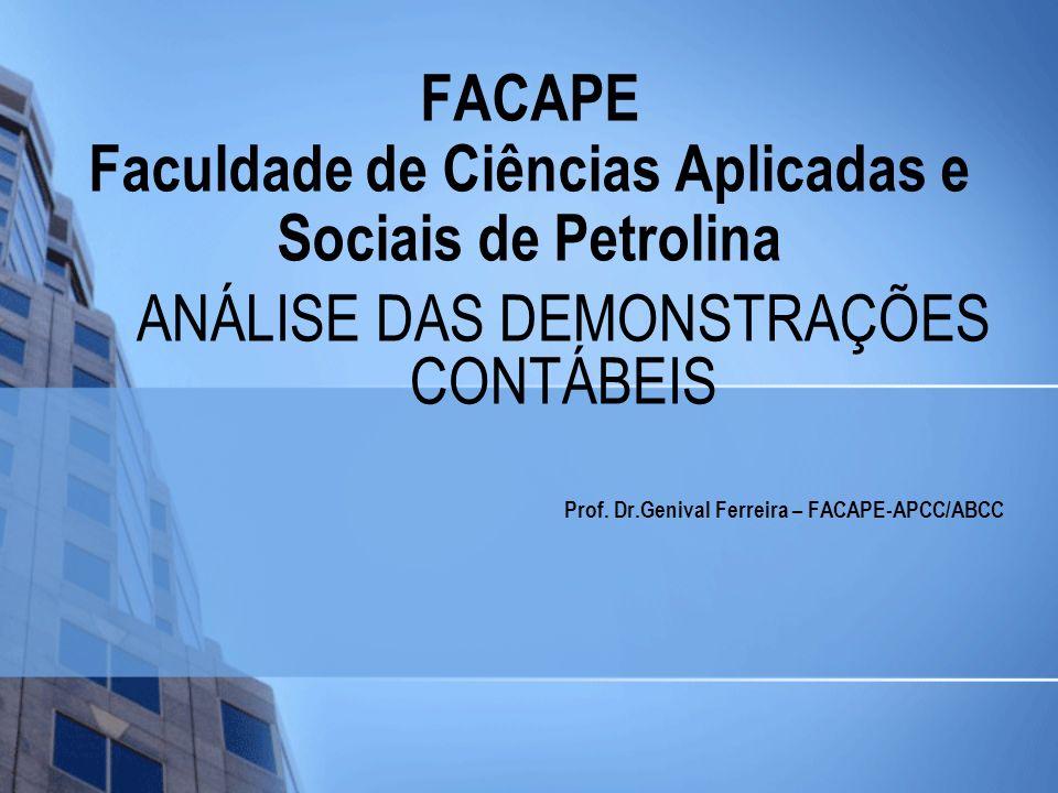 FACAPE Faculdade de Ciências Aplicadas e Sociais de Petrolina