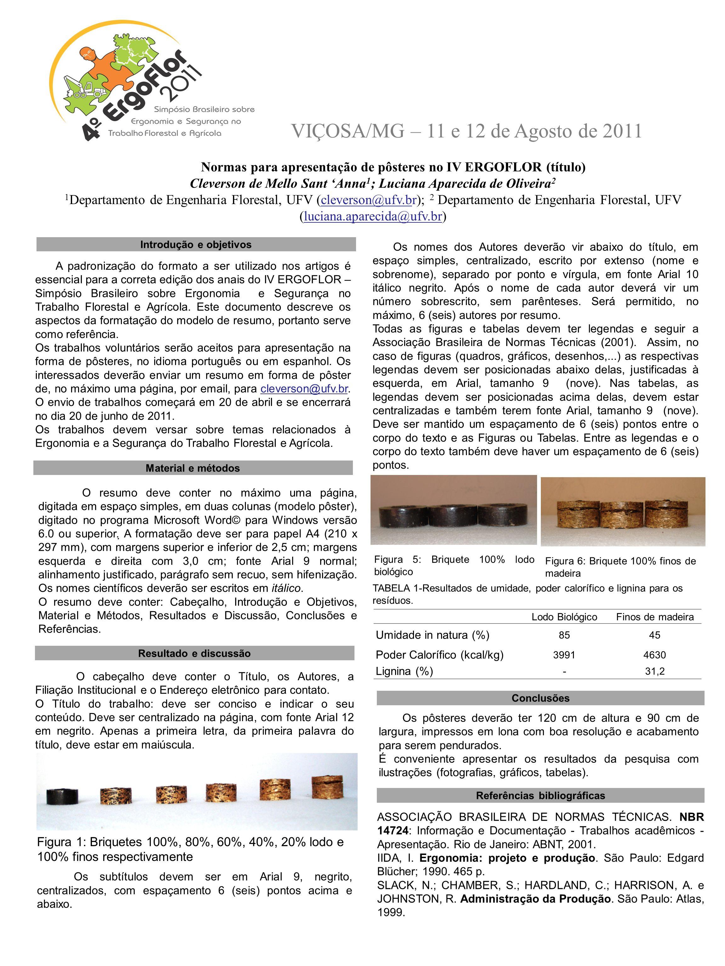 Introdução e objetivos Referências bibliográficas