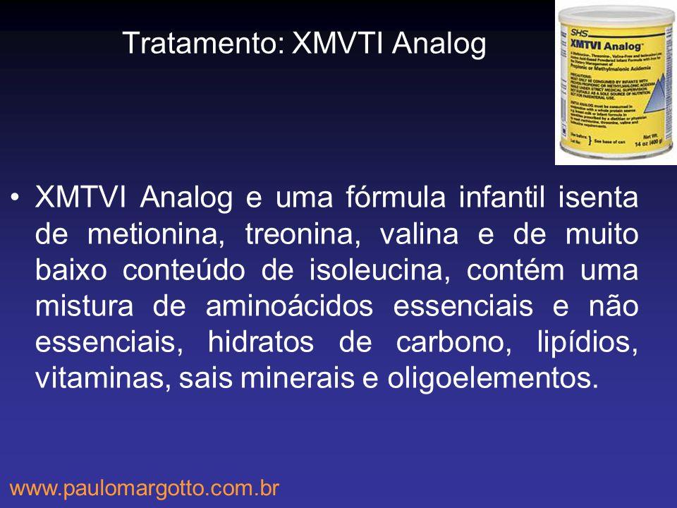 Tratamento: XMVTI Analog