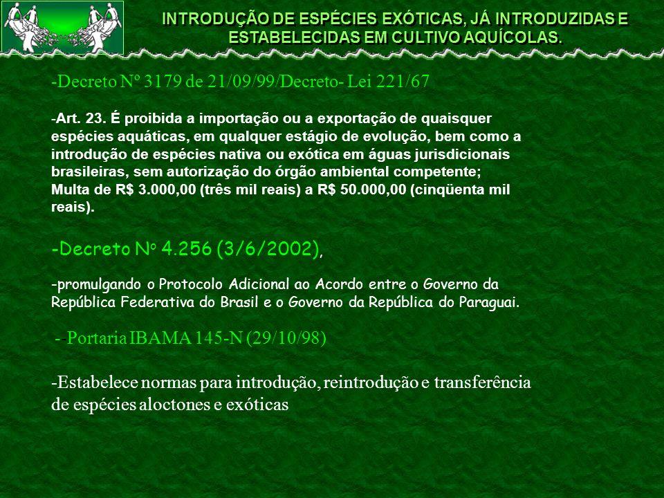 -Decreto Nº 3179 de 21/09/99/Decreto- Lei 221/67