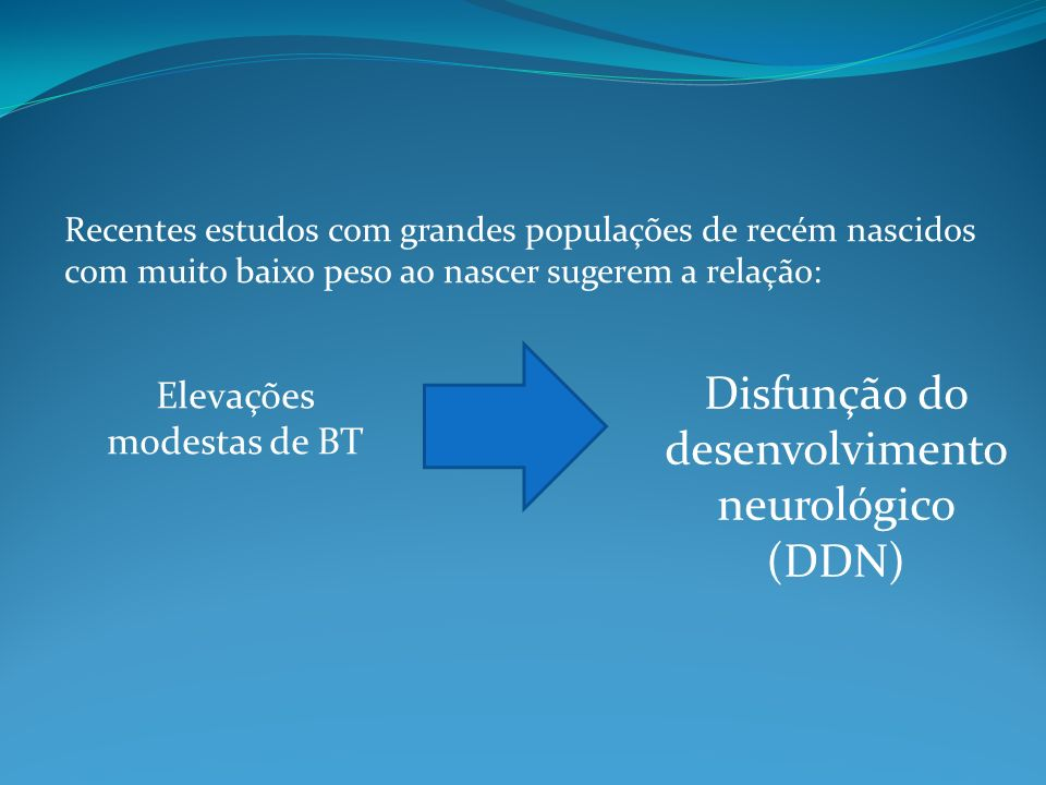 Disfunção do desenvolvimento neurológico (DDN)