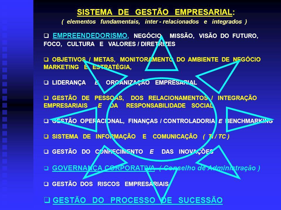 SISTEMA DE GESTÃO EMPRESARIAL: