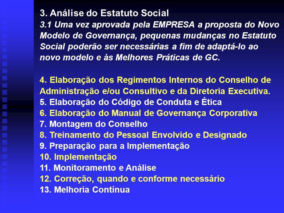 3. Análise do Estatuto Social 3