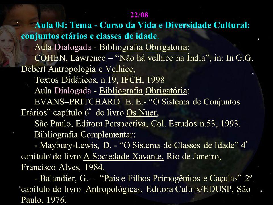 Aula Dialogada - Bibliografia Obrigatória:
