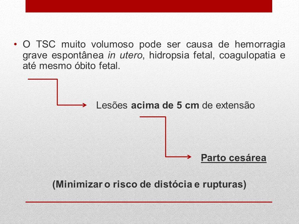 (Minimizar o risco de distócia e rupturas)