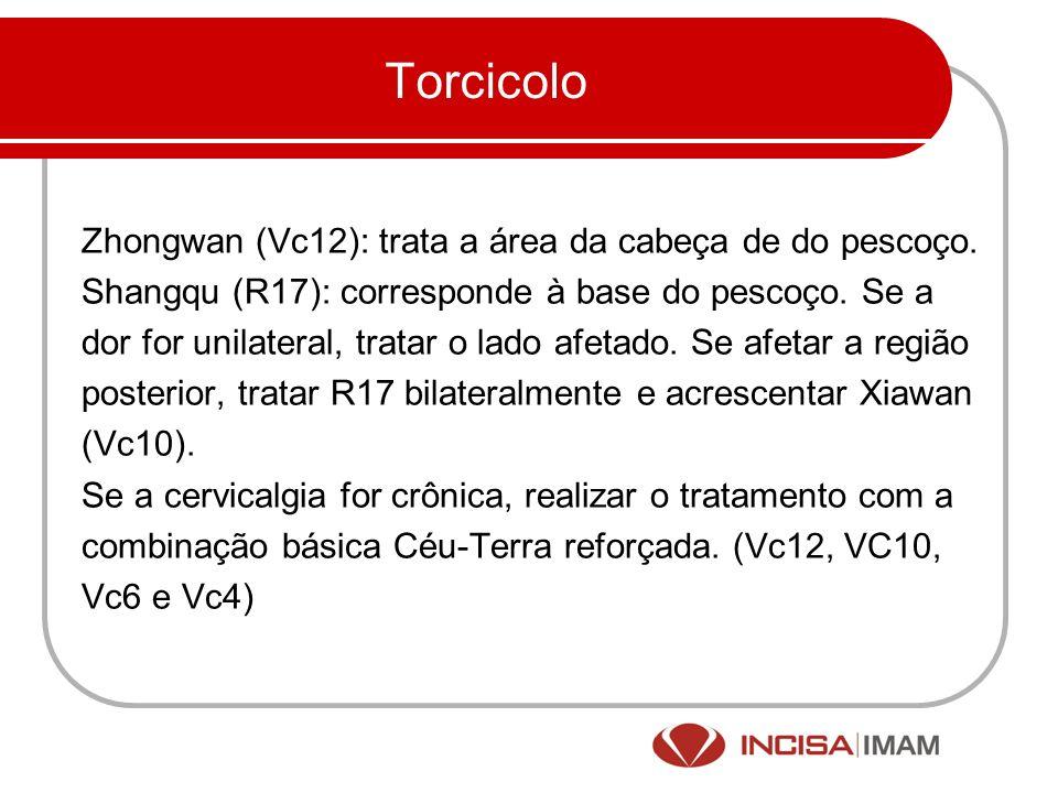 Torcicolo Zhongwan (Vc12): trata a área da cabeça de do pescoço.