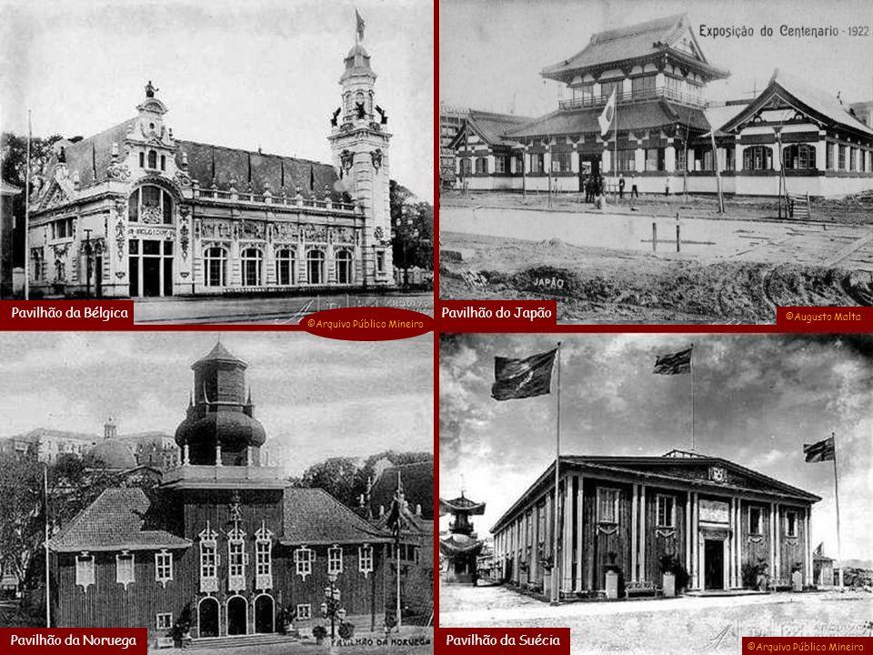 Pavilhão da Bélgica Pavilhão do Japão Pavilhão da Noruega