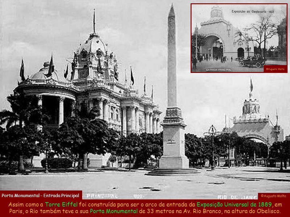 ©Augusto Malta Porta Monumental – Entrada Principal. ©Augusto Malta.
