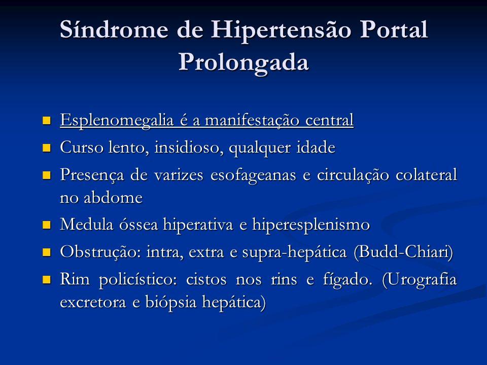 Síndrome de Hipertensão Portal Prolongada