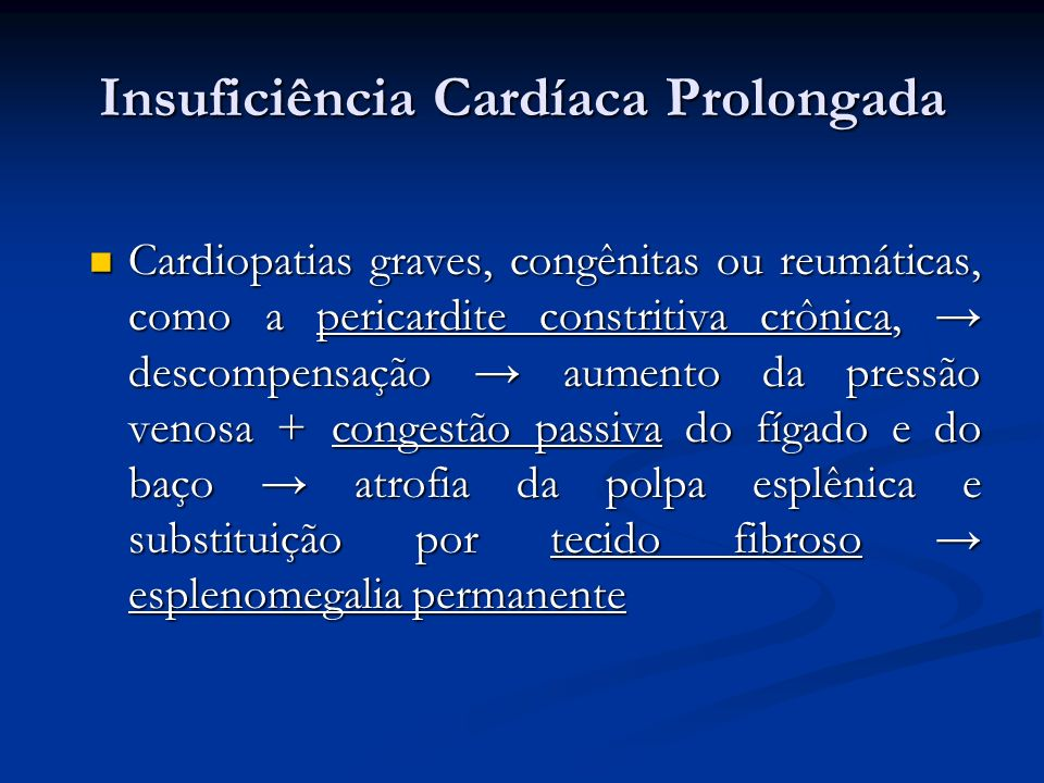 Insuficiência Cardíaca Prolongada