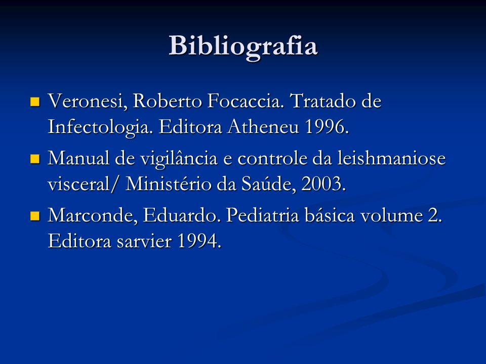 Bibliografia Veronesi, Roberto Focaccia. Tratado de Infectologia. Editora Atheneu 1996.