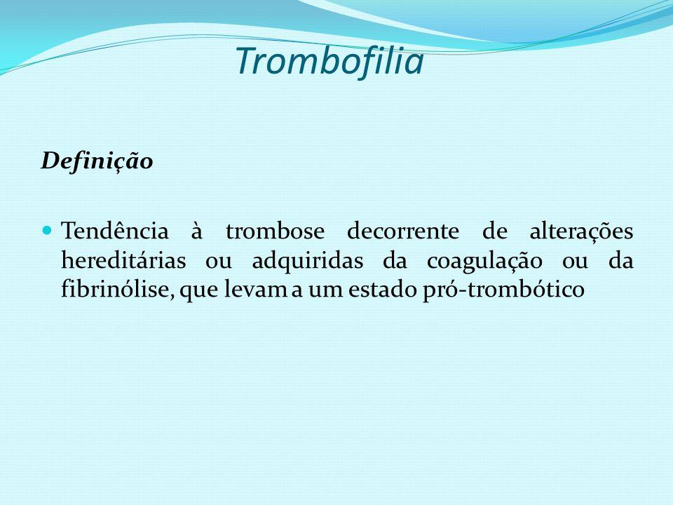 Trombofilia Definição