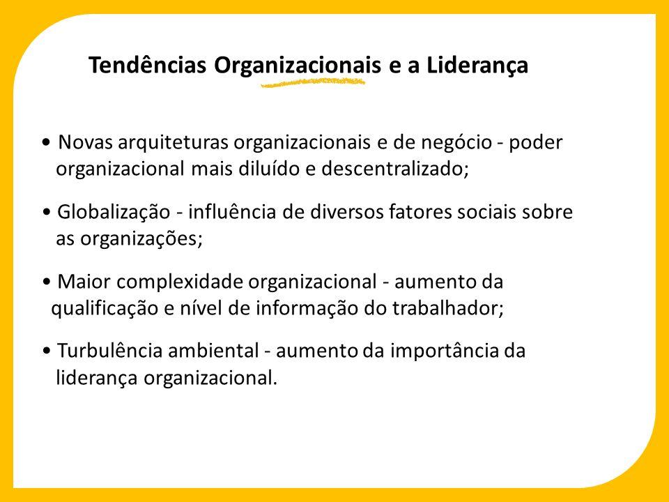 Tendências Organizacionais e a Liderança
