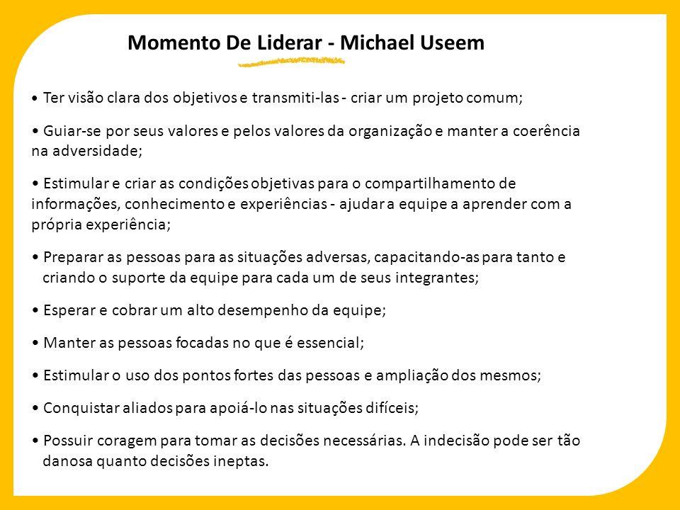 Momento De Liderar - Michael Useem