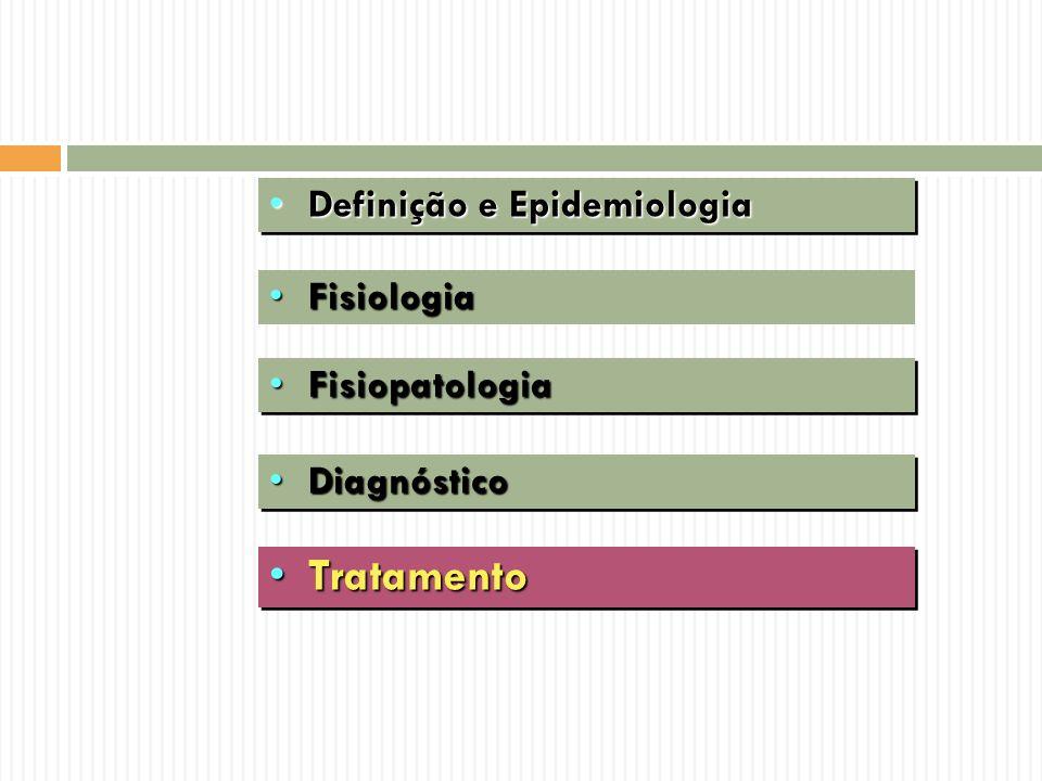 Tratamento Definição e Epidemiologia Fisiologia Fisiopatologia