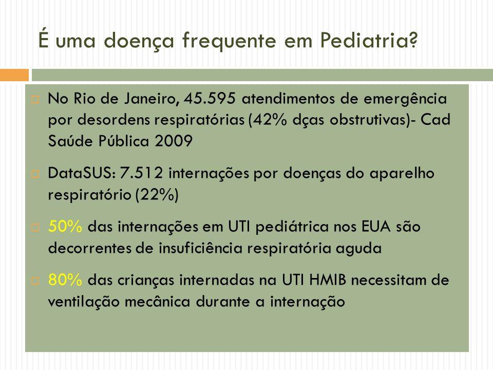 É uma doença frequente em Pediatria