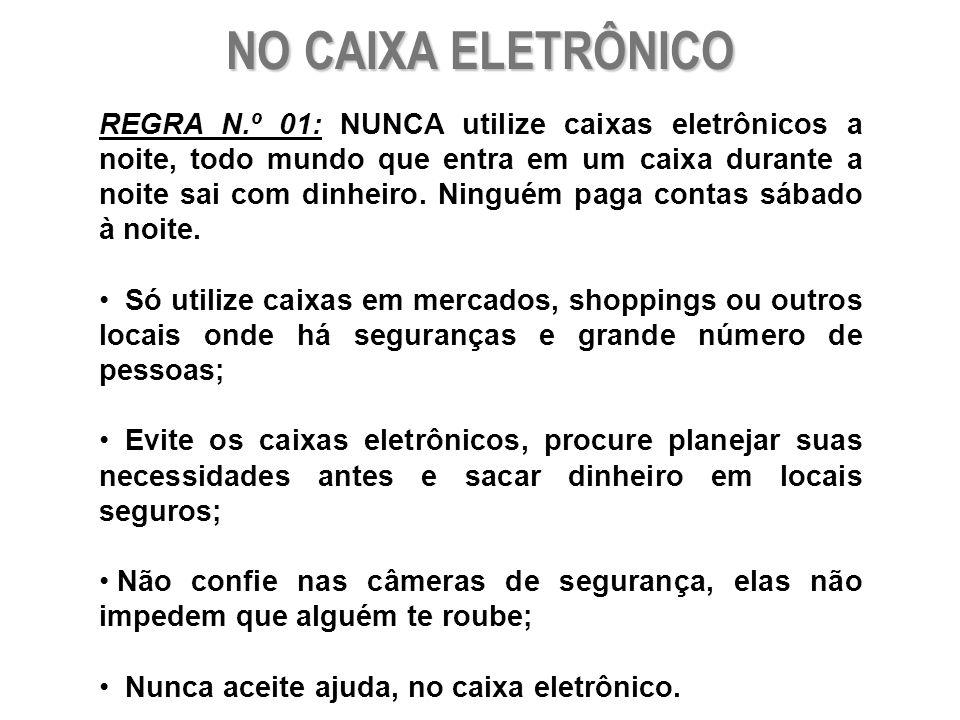 NO CAIXA ELETRÔNICO
