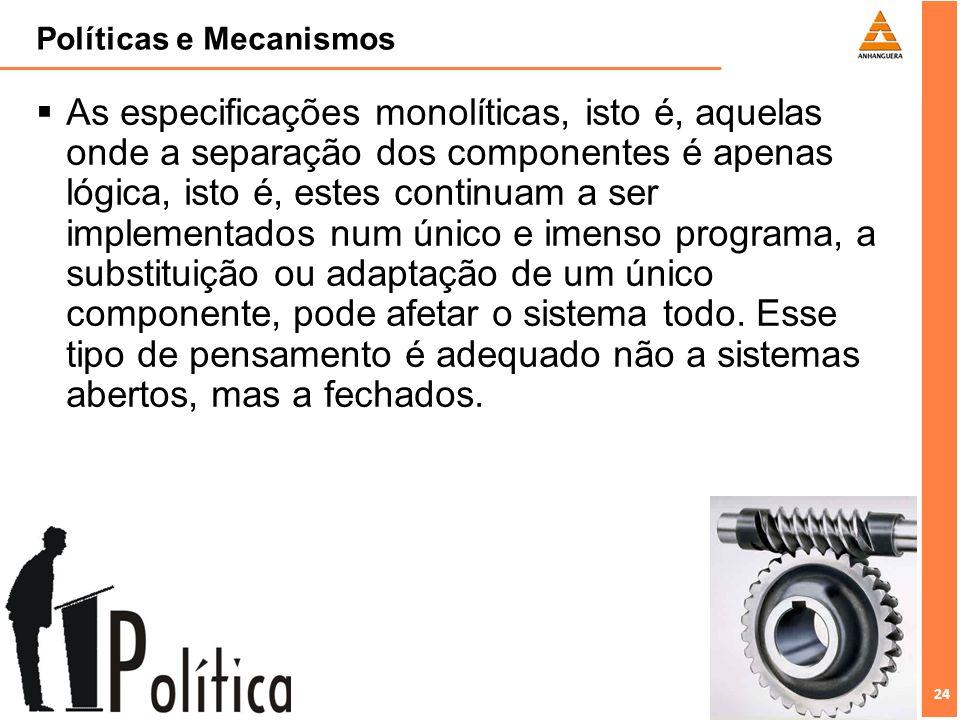 Políticas e Mecanismos
