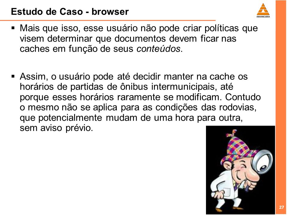 Estudo de Caso - browser