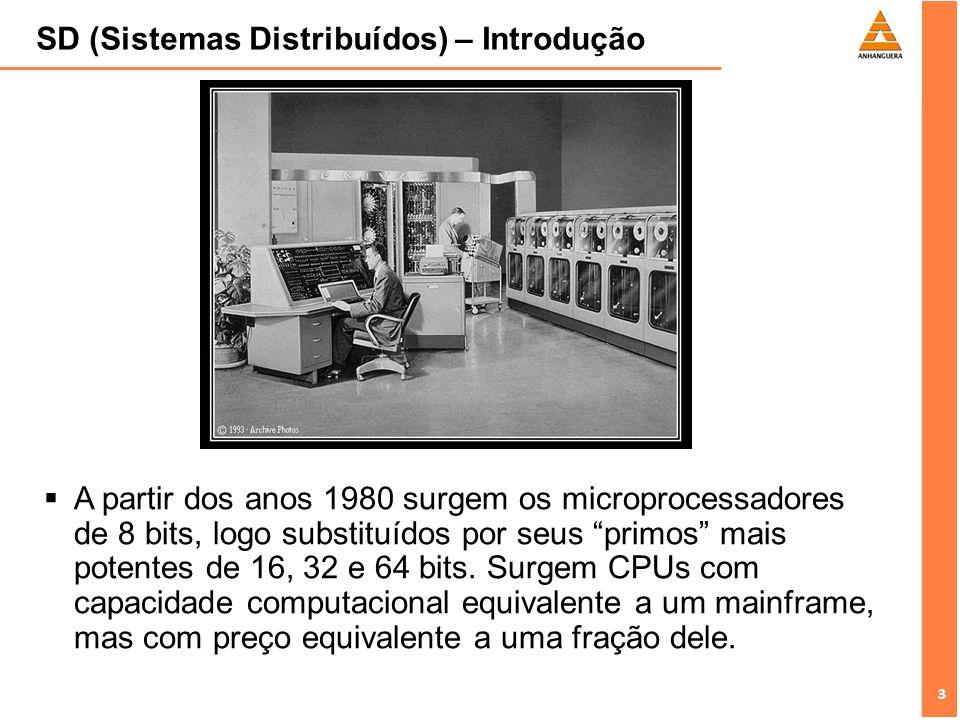 SD (Sistemas Distribuídos) – Introdução
