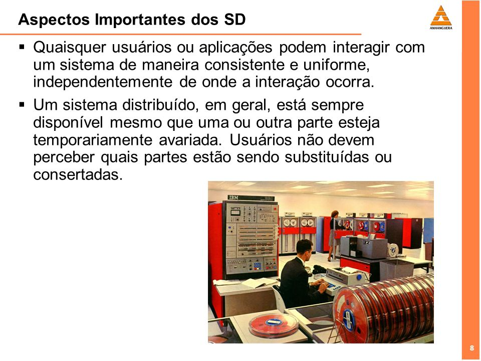 Aspectos Importantes dos SD