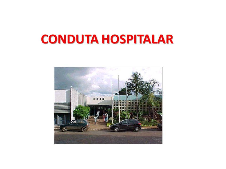 CONDUTA HOSPITALAR