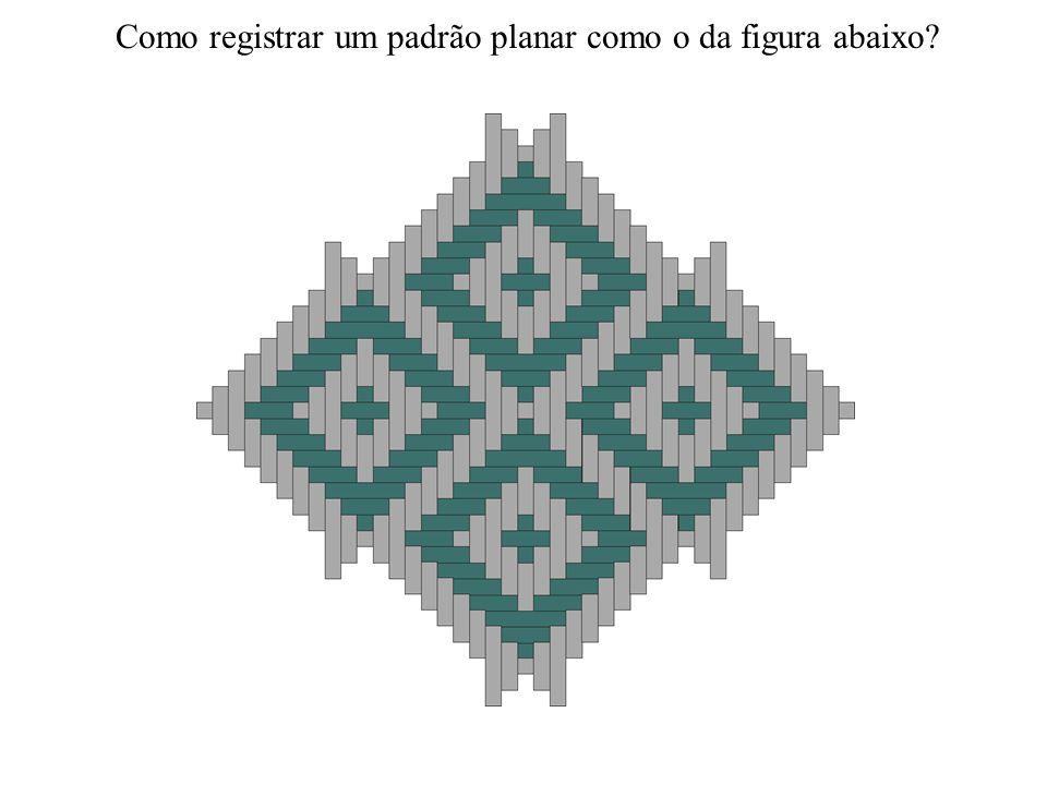 Como registrar um padrão planar como o da figura abaixo