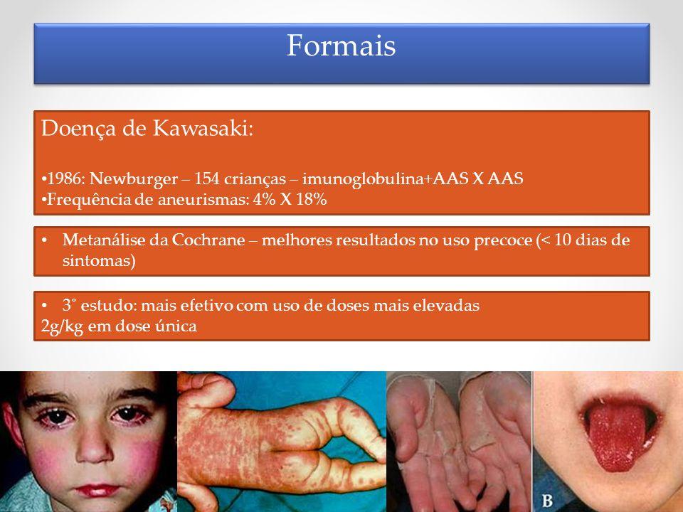 Formais Doença de Kawasaki: