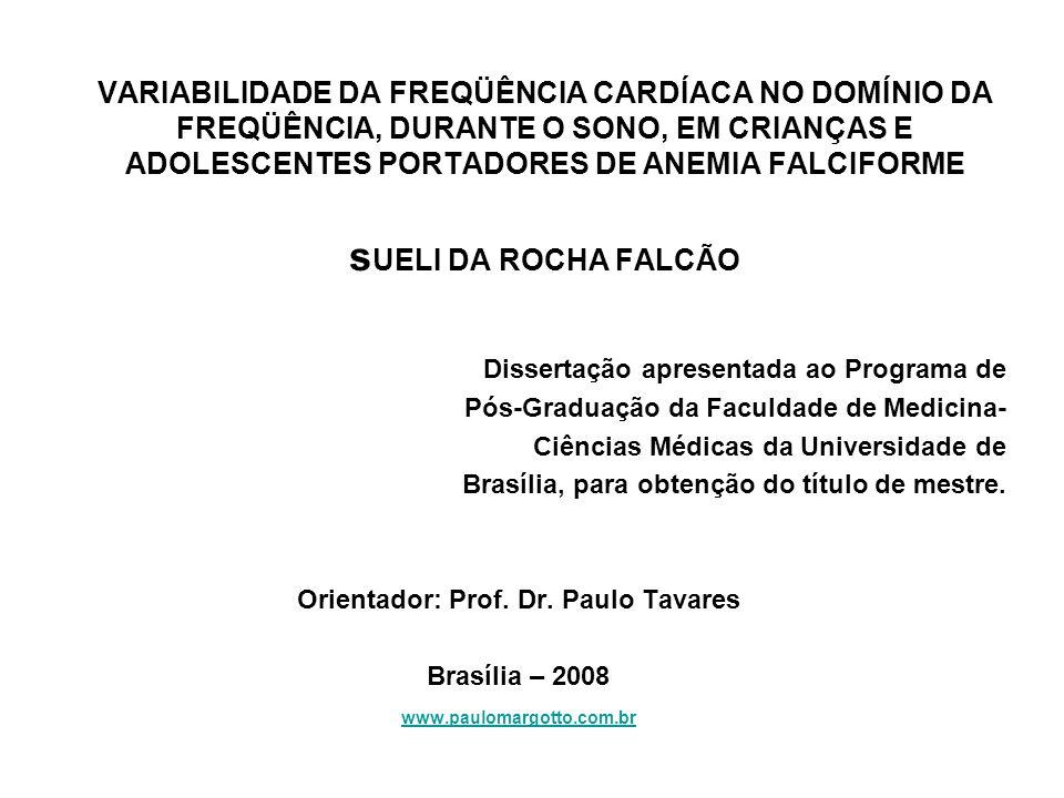 Orientador: Prof. Dr. Paulo Tavares