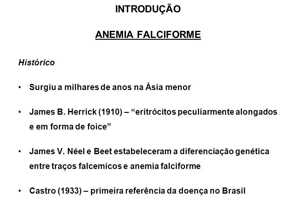 INTRODUÇÃO ANEMIA FALCIFORME
