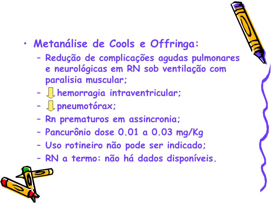 Metanálise de Cools e Offringa: