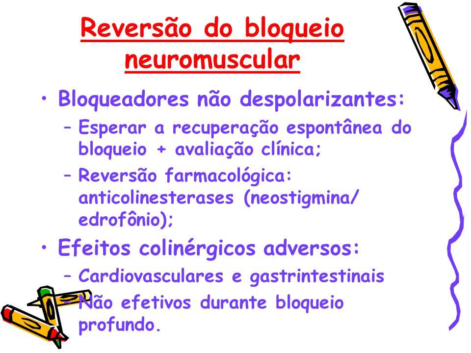 Reversão do bloqueio neuromuscular