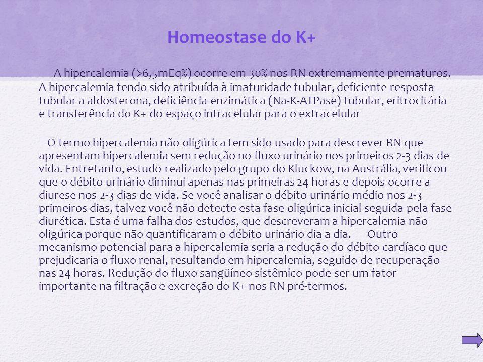 Homeostase do K+