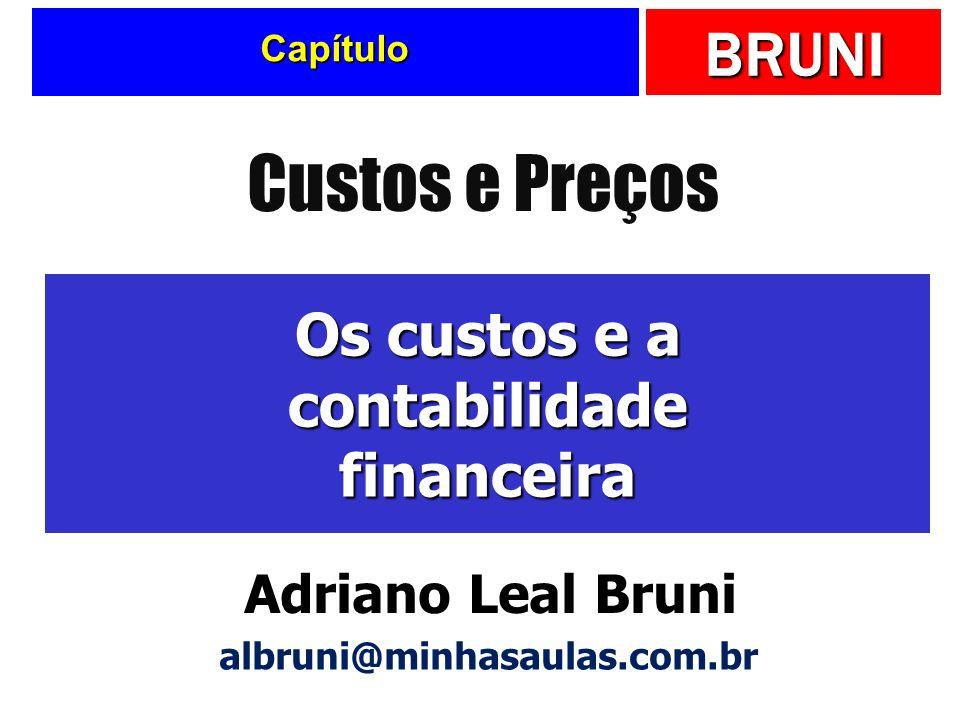 Os custos e a contabilidade financeira