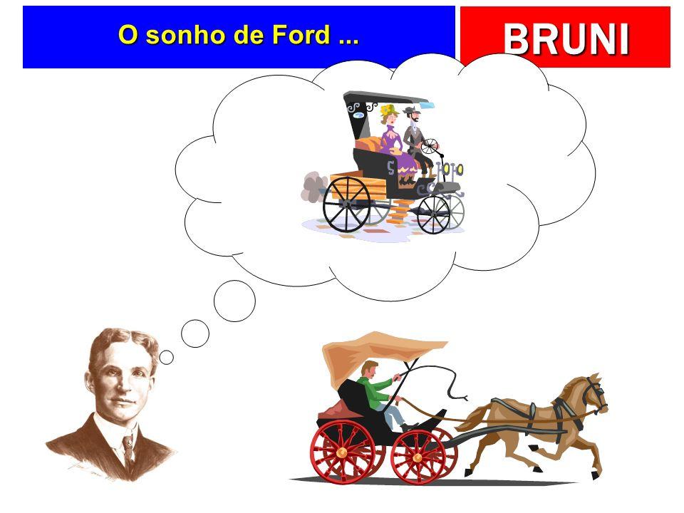 O sonho de Ford ...