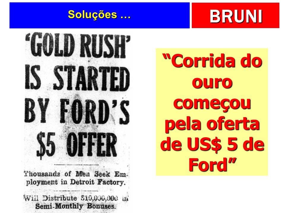 Corrida do ouro começou pela oferta de US$ 5 de Ford
