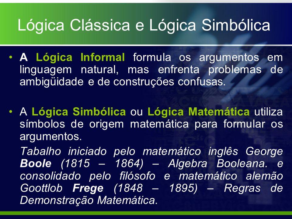 Lógica Clássica e Lógica Simbólica