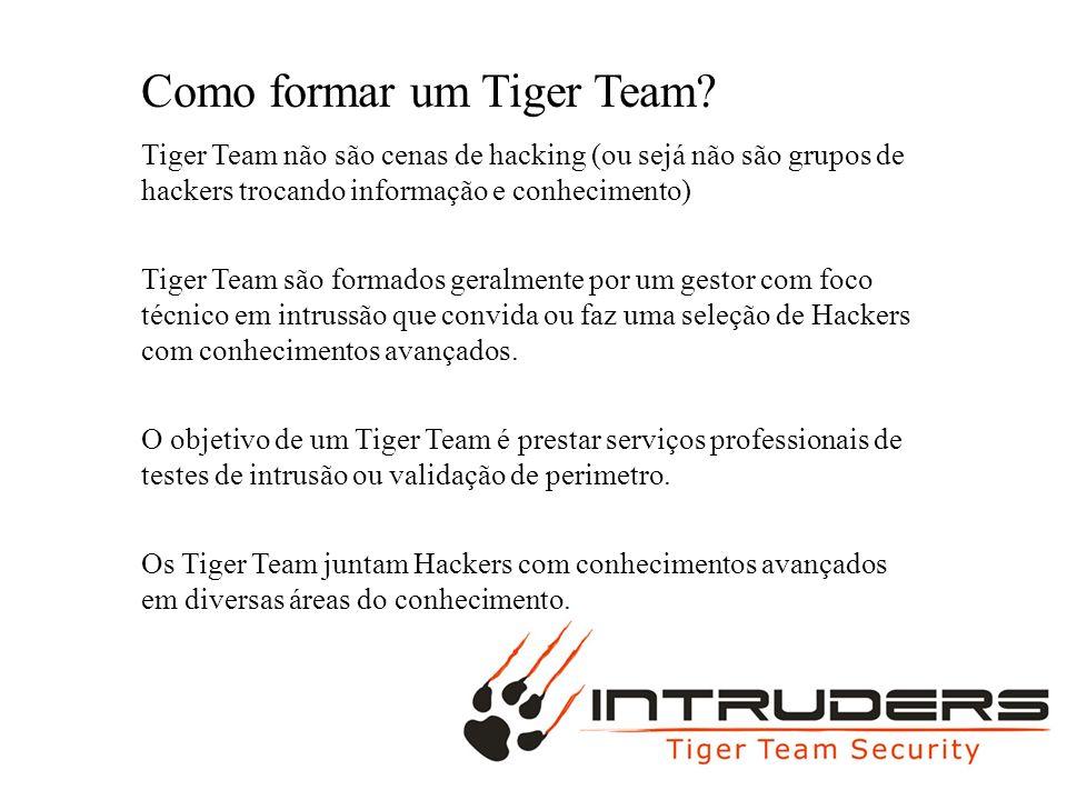 MAC BURGUER Como formar um Tiger Team