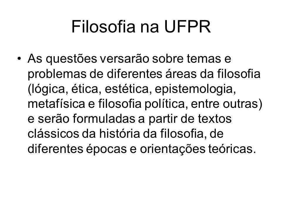 Filosofia na UFPR