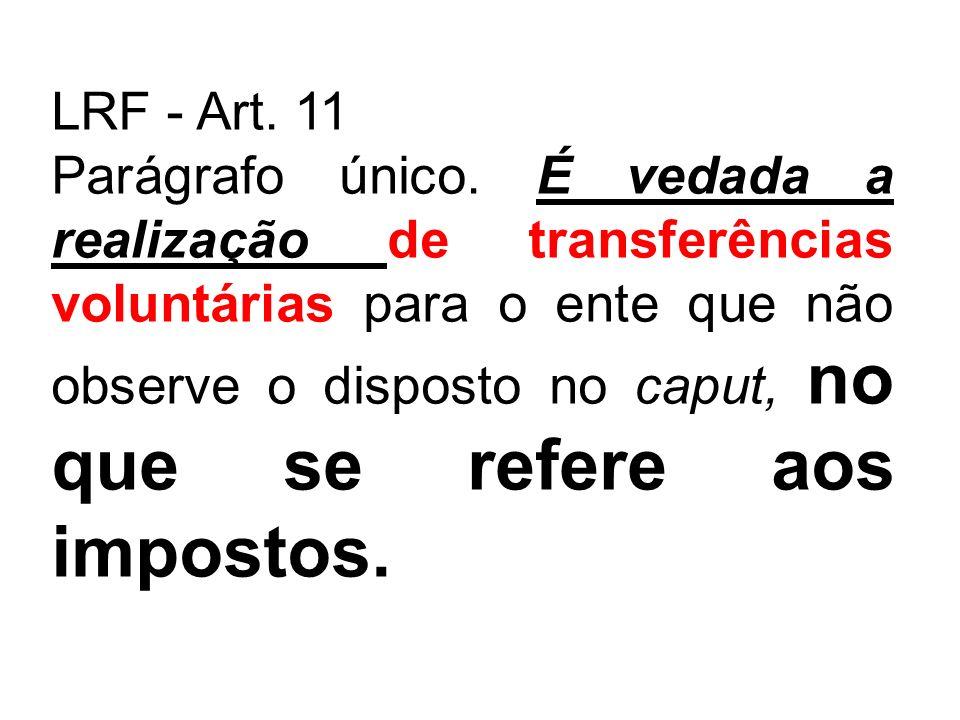 LRF - Art. 11