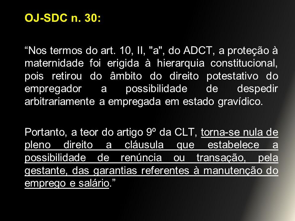 OJ-SDC n. 30: