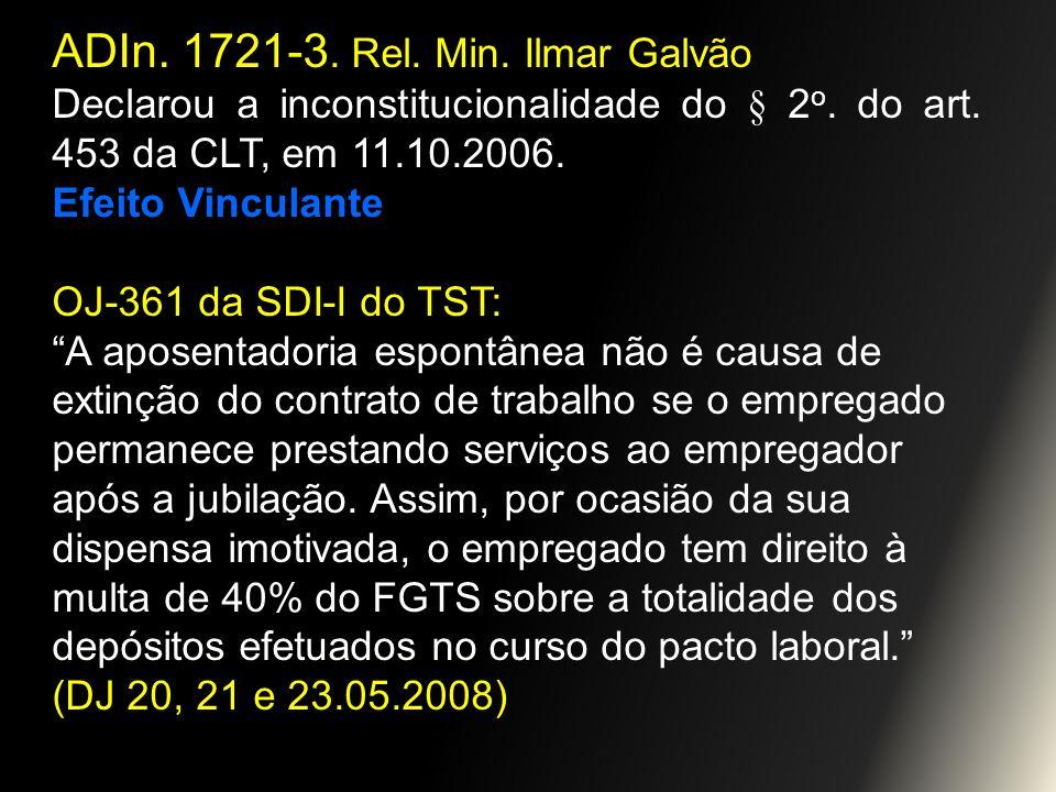 ADIn. 1721-3. Rel. Min. Ilmar Galvão