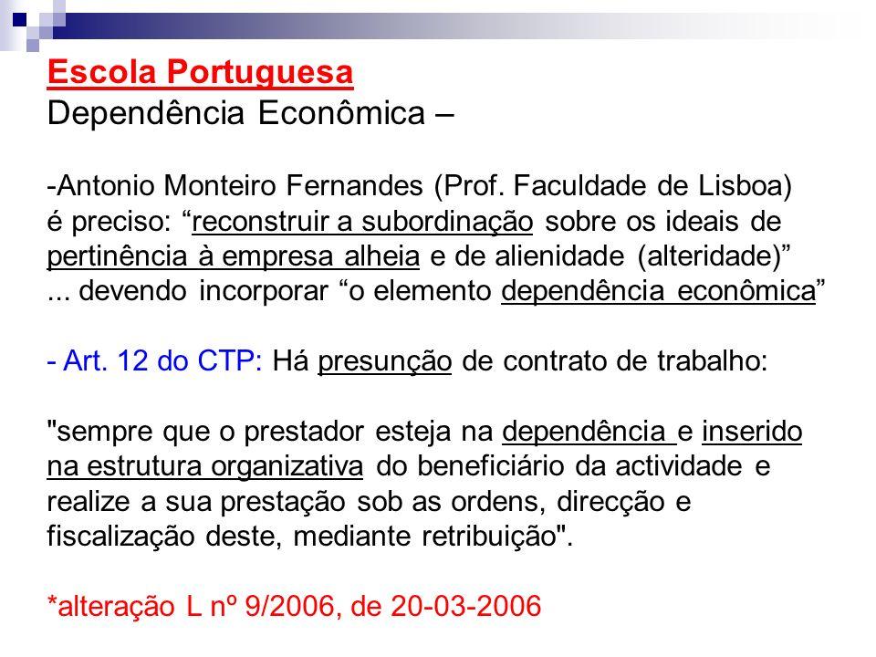 Dependência Econômica –