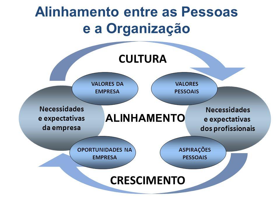 Alinhamento entre as Pessoas e a Organização