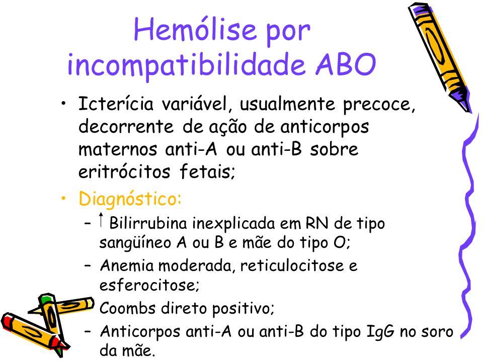 Hemólise por incompatibilidade ABO