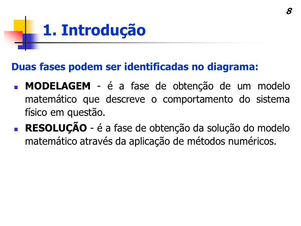 Duas fases podem ser identificadas no diagrama:
