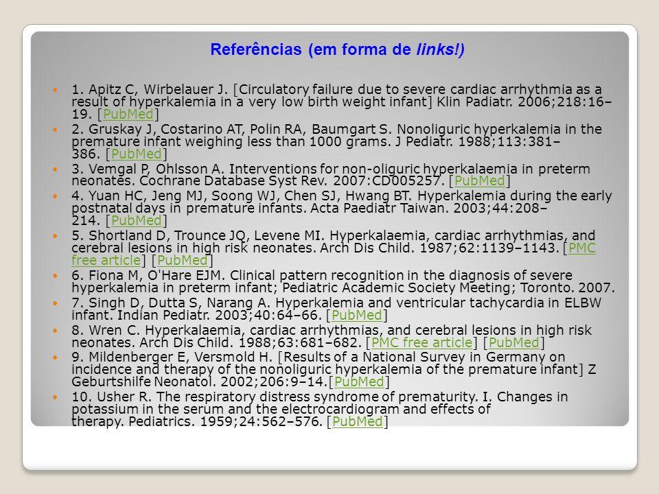 Referências (em forma de links!)