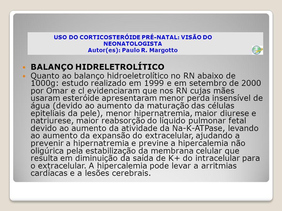 BALANÇO HIDRELETROLÍTICO